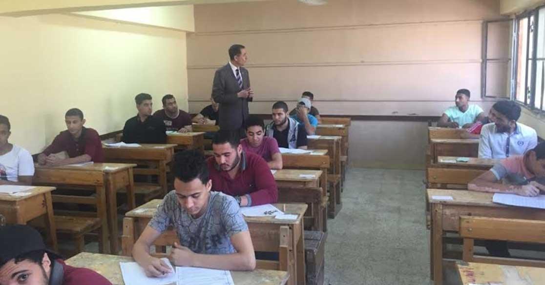طالب ثانوية يصور امتحان العربي وينسى مسح  رقم الجلوس