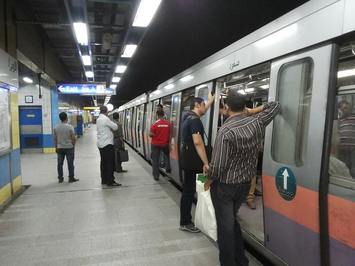 تخفيض سرعة قطارات مترو الأنفاق غدا بسبب ارتفاع درجات الحرارة