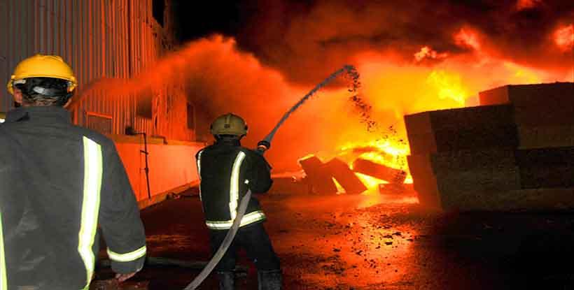 انفجار خط غاز طبيعي في محافظة الإسكندرية