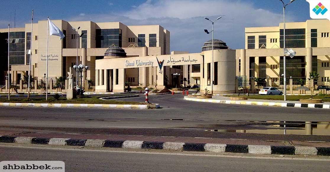 نظام جديد للدراسة في جامعة سيناء