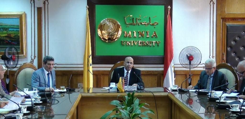 معلومات عن رئيس جامعة المنيا مصطفى عبد النبي