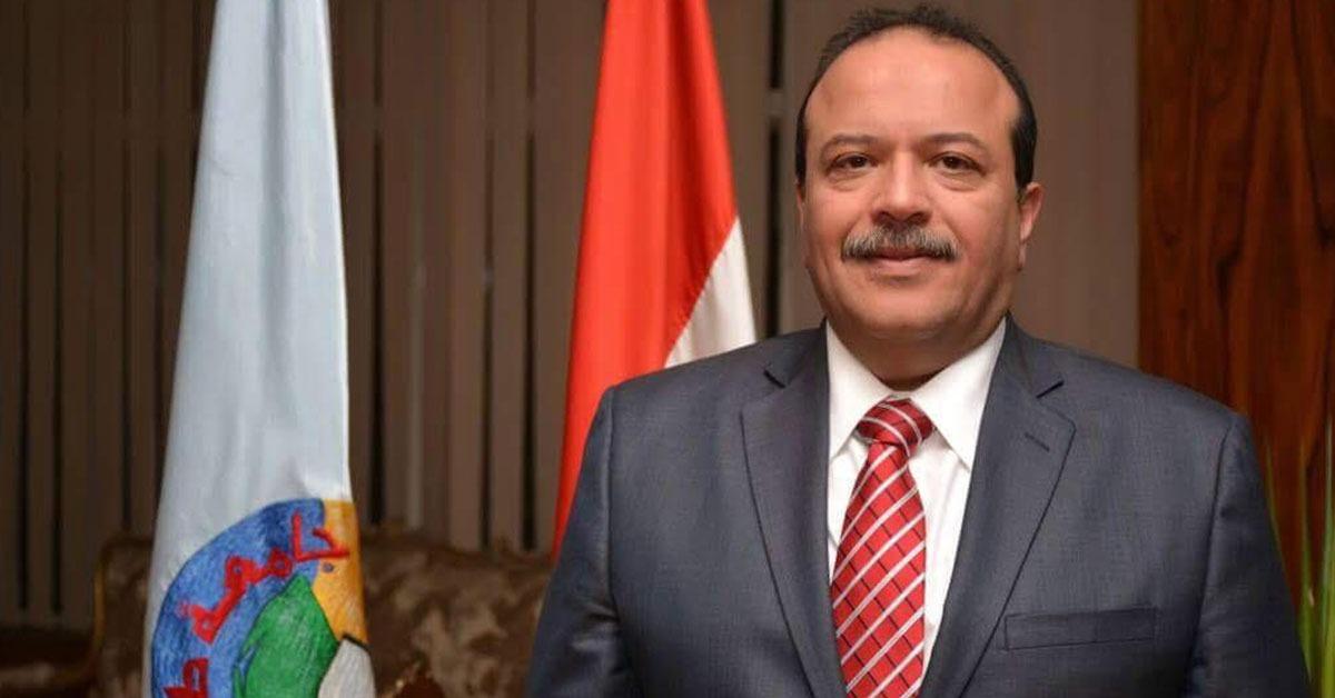 رئيس جامعة طنطا يعين عماد عتمان مستشارا هندسيا للجامعة