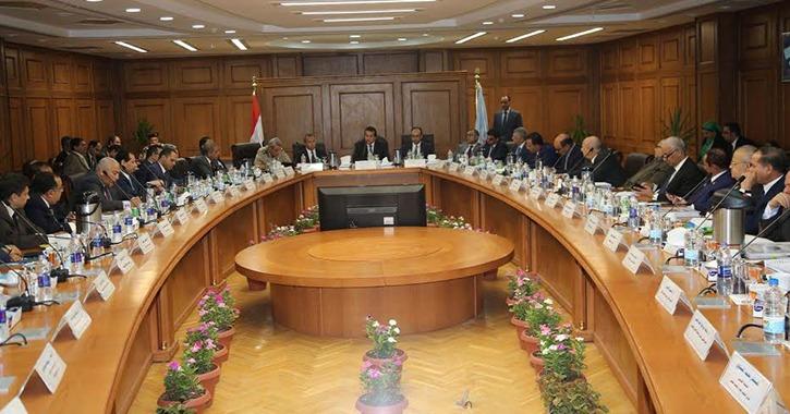 رؤساء اتحادات الطلاب في ضيافة المجلس الأعلى للجامعات