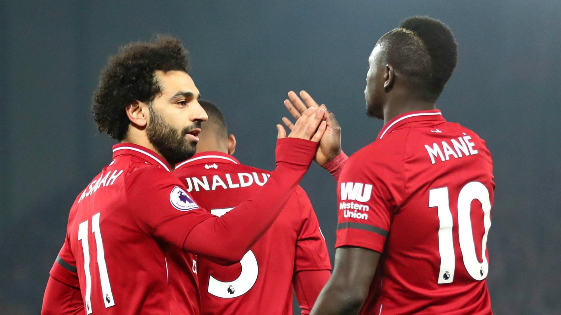شاهد أهداف محمد صلاح في مباراة ليفربول ضد هدرسفيلد.. الأول عالمي