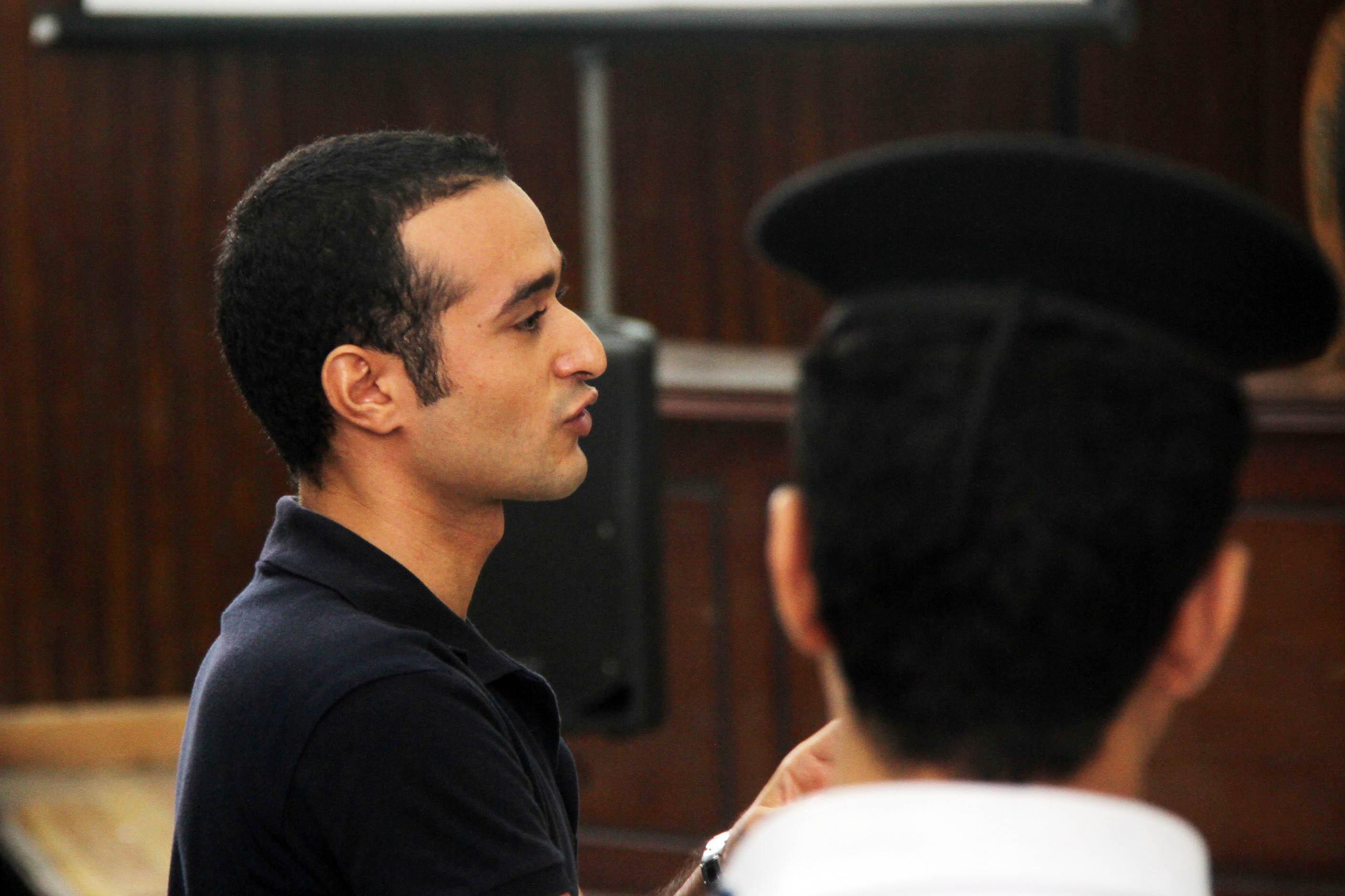 حبس أحمد دومة 15 عاما في أحداث مجلس الوزراء