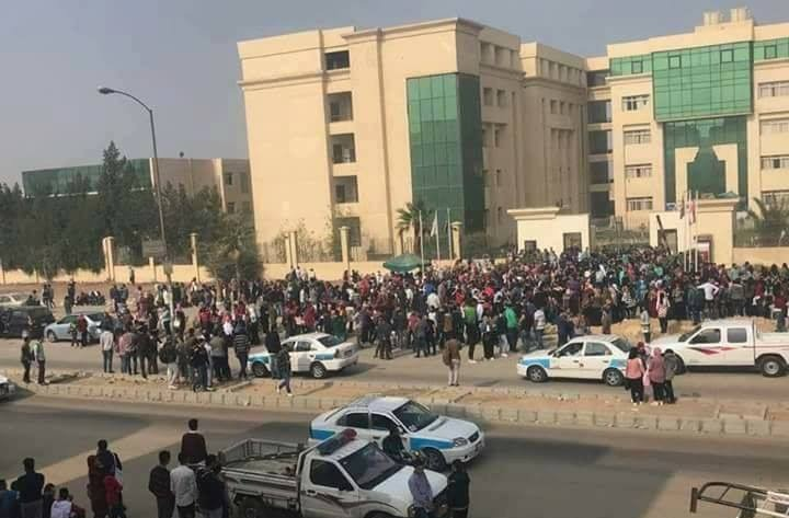 هذه قرارات جامعة النهضة بعد أحداث تظاهر الطلاب