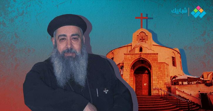 تشييع جثمان كاهن كنيسة شبرا المقتول صباح اليوم (صور)