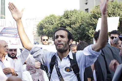 حبس هيثم محمدين وشقيق الناشط أحمد ماهر 15 يومًا