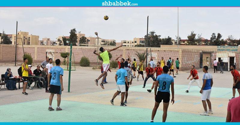 انسحاب فريق كرة الطائرة بعين شمس في منافسات أسبوع شباب الجامعات