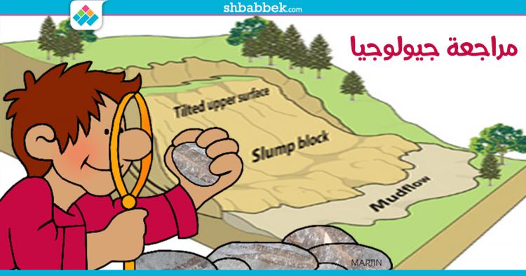 نماذج امتحانات الجيولوجيا باللغة الإنجليزية لطلاب الثانوية العامة