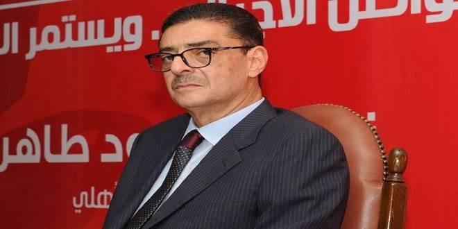 محمود طاهر يمنع الصحفيين من دخول الأهلى بسبب «الخطيب»
