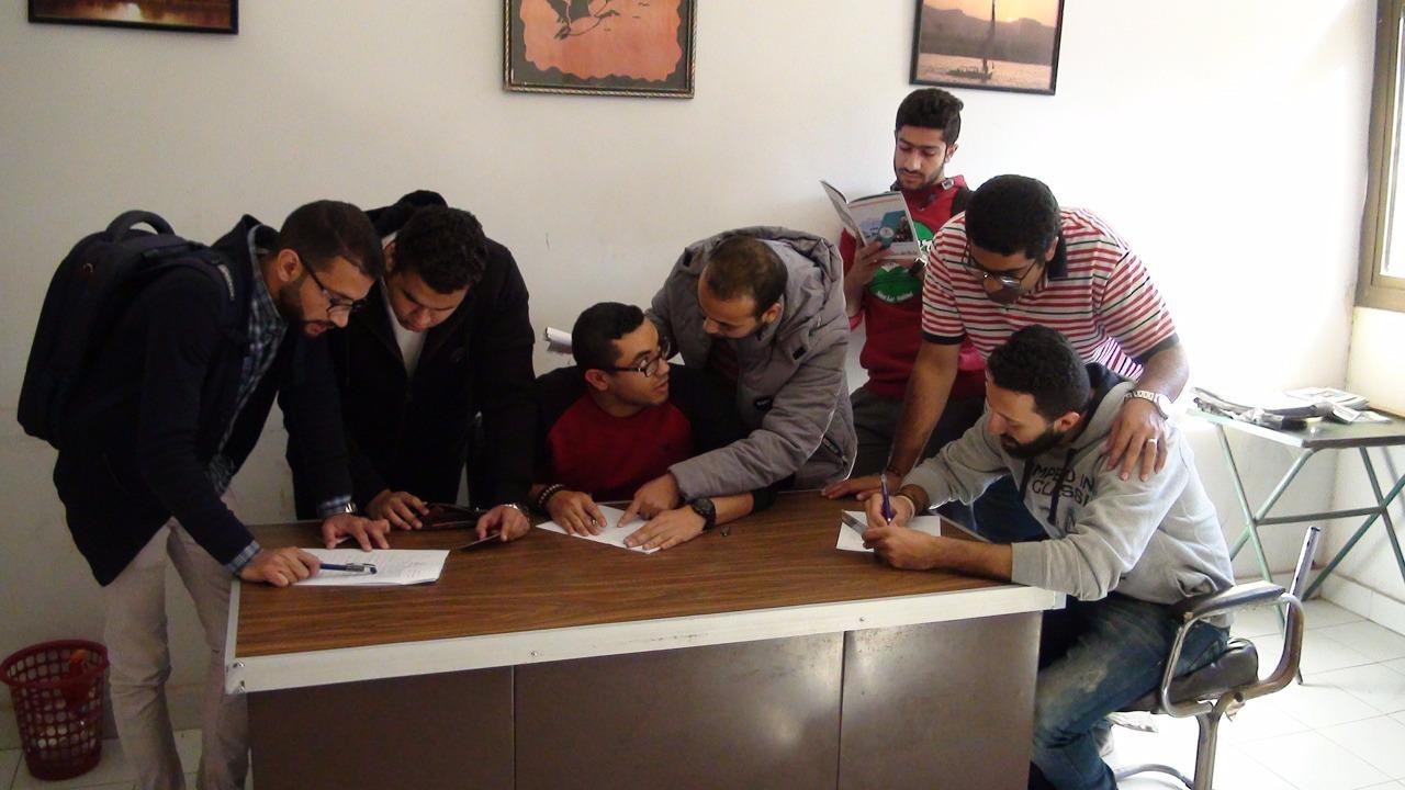 1037 طالب يتنافسون في انتخابات اتحاد طلاب جامعة بني سويف