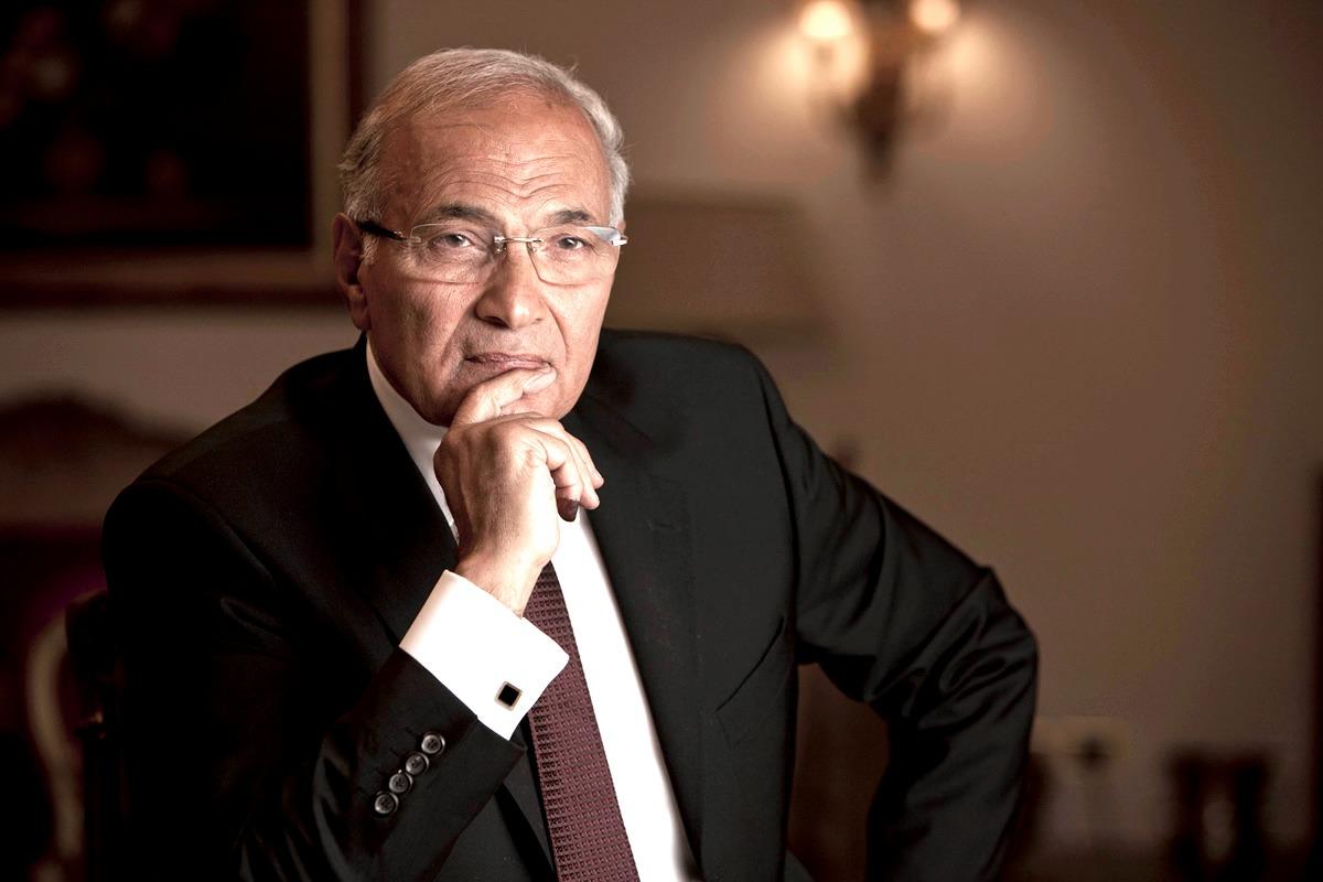 ظهور الفريق أحمد شفيق في أحد فنادق القاهرة