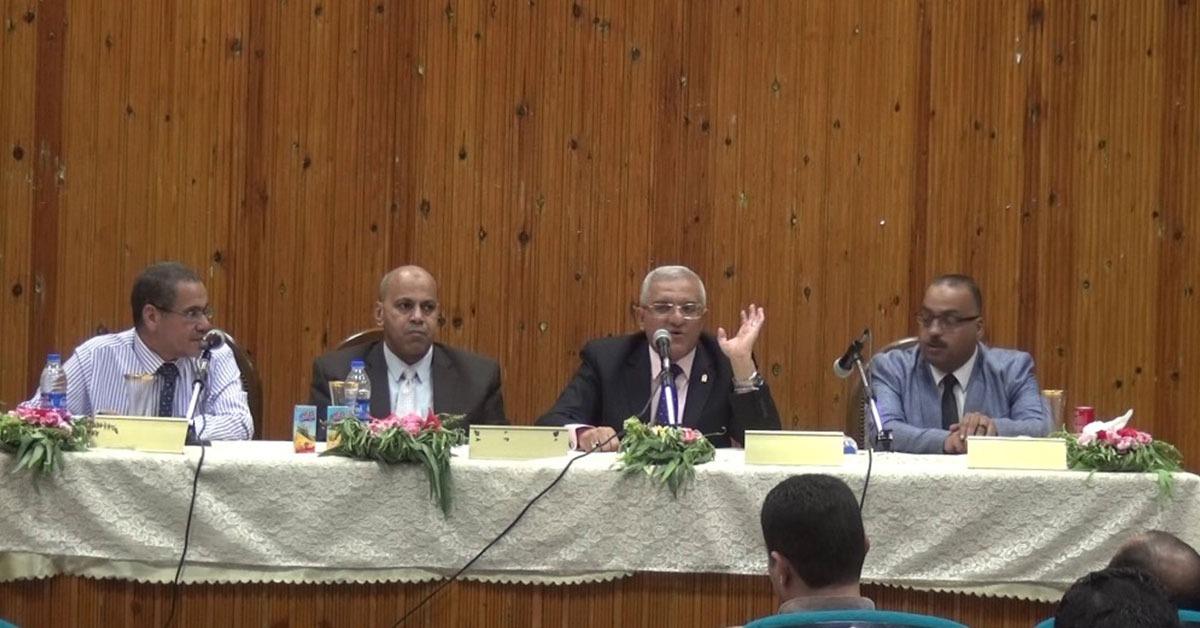 ضوابط جديدة بجامعة المنيا للإرتقاء بالبحث العلمي