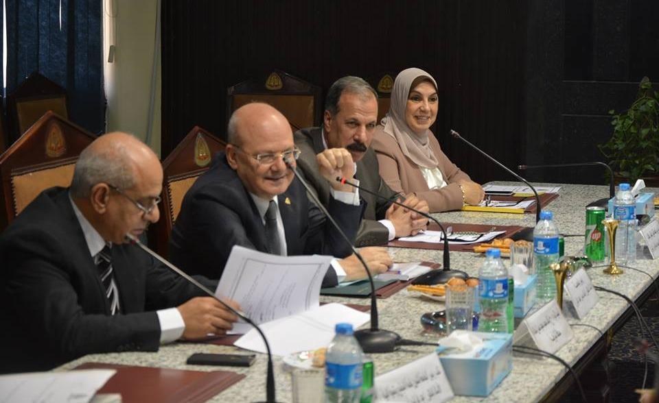 تعيين الدكتور خليفة الضوي وكيلا كلية الطب البيطري جامعة الزقايق