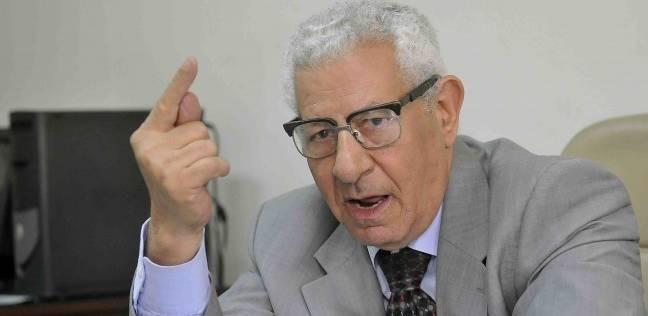 أمن الدولة تحقق مع مكرم محمد أحمد بسبب فساد «مستشفي 57357»