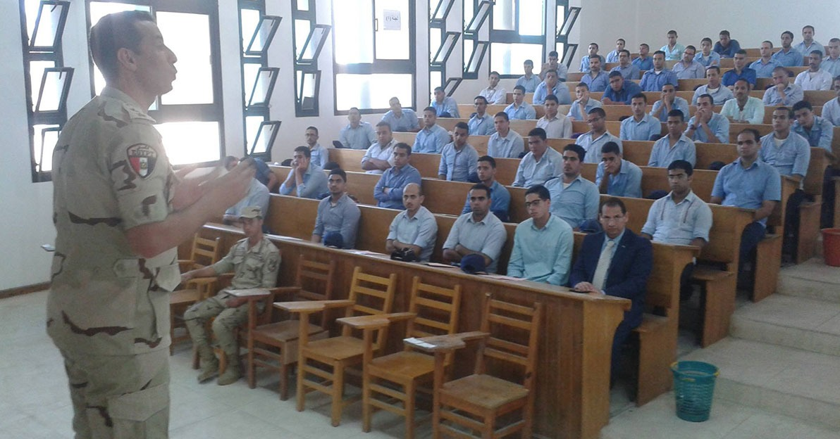 السبت.. بدء التربية العسكرية بجامعة سوهاج