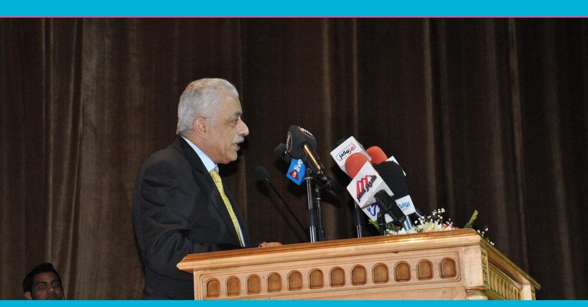 وزير التربية والتعليم يتحدث عن خطة الوزارة لتقديم تعليم متميز