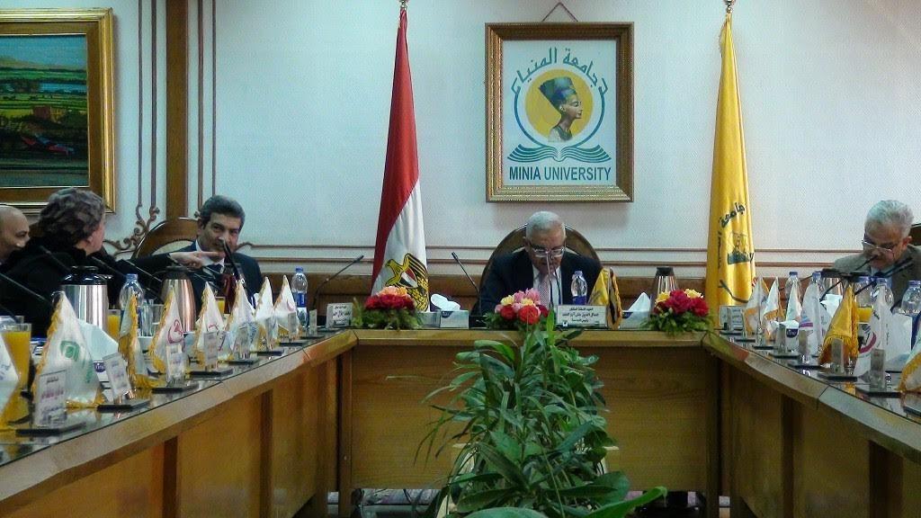 تخصيص لجنتين داخل جامعة المنيا لانتخابات الرئاسة