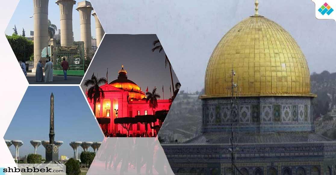 عام على إعلان القدس عاصمة لإسرائيل.. هكذا غضب طلاب الجامعات للأقصى (فيديو)