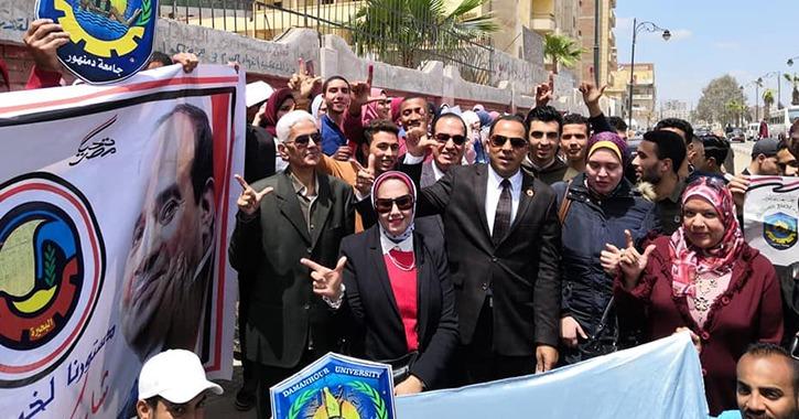 ملخص ما حدث في الجامعات المصرية آخر أيام تعديل الدستور (فيديو)