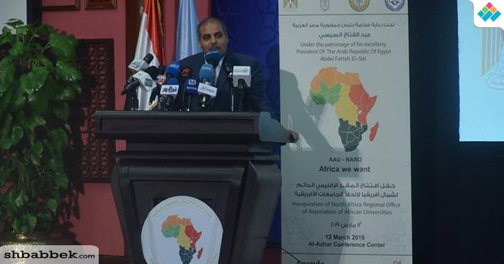المحرصاوي نائبا لرئيس رابطة الجامعات الإسلامية