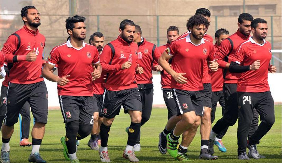 الأهلي يخوض أولى تدريباته في المغرب على ملعب «الوداد»