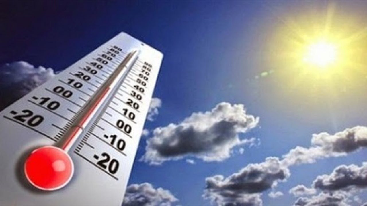 درجات الحرارة المتوقعة غدا الأربعاء 25 أكتوبر