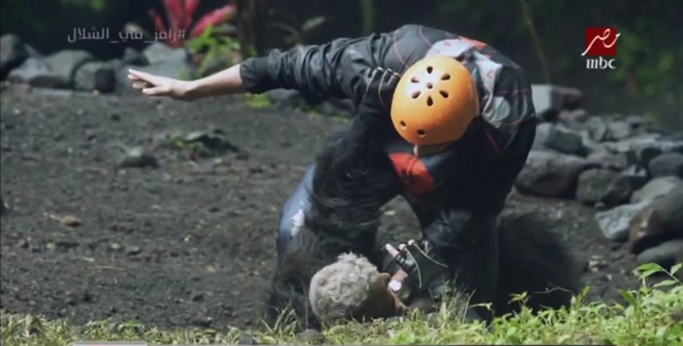 «رامز في الشلال».. تعرف على ضحية الحلقة 18