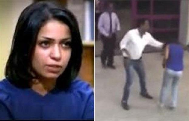 بالصور.. حبس المتهم بتشويه وجه فتاة المول 4 أيام