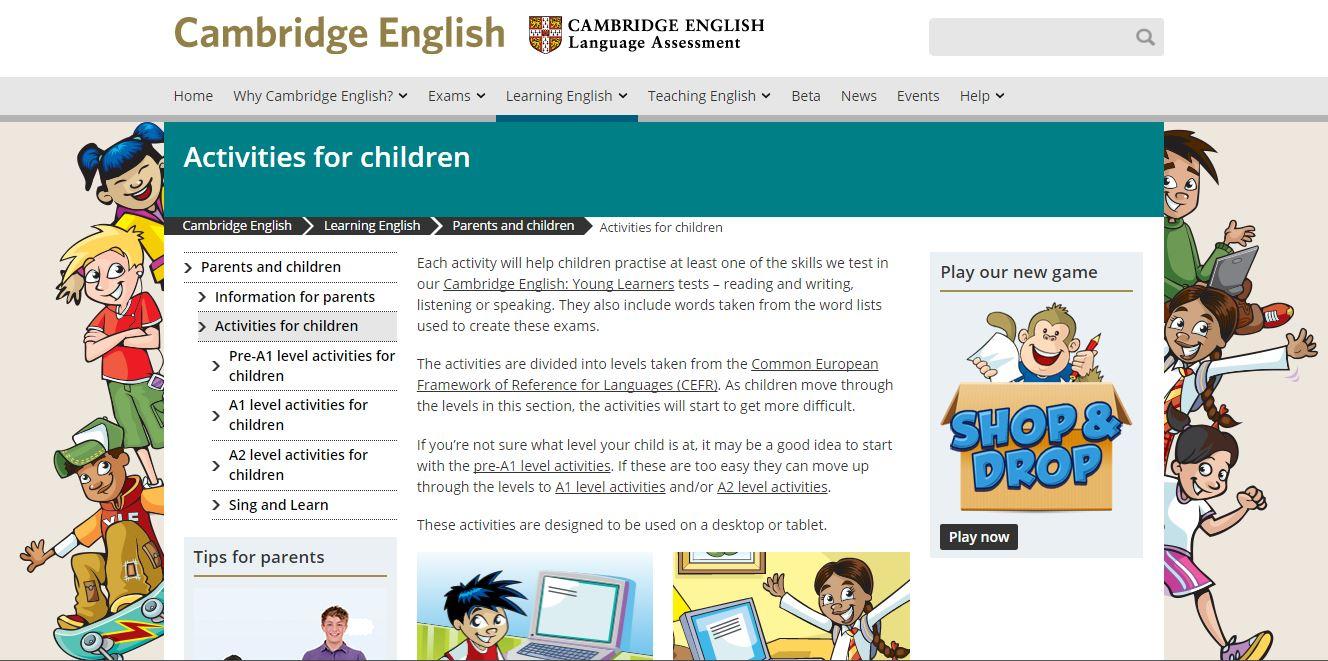 مواقع وقنوات تعليم الإنجليزية للأطفال بسهولة من عمر سنتين شبابيك