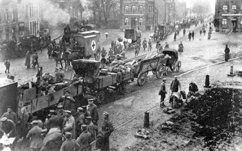 الحرب العالمية الأولى وثورة 1919