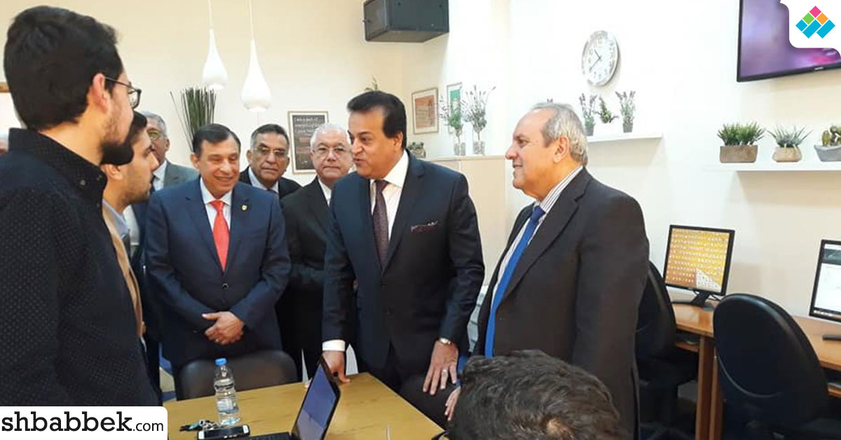 وزير التعليم العالى يزور جامعة بيروت العربية