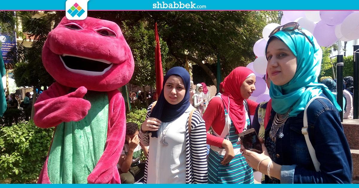 حفل استقبال طلاب جامعة عين شمس