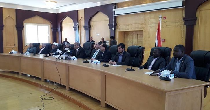 تفاصيل فعاليات جامعة الأزهر مع اتحاد الجامعات الأفريقية (فيديو)
