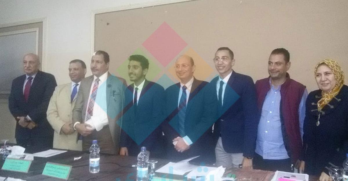أسامة المرشدي رئيسا لاتحاد طلاب جامعة عين شمس بالتزكية