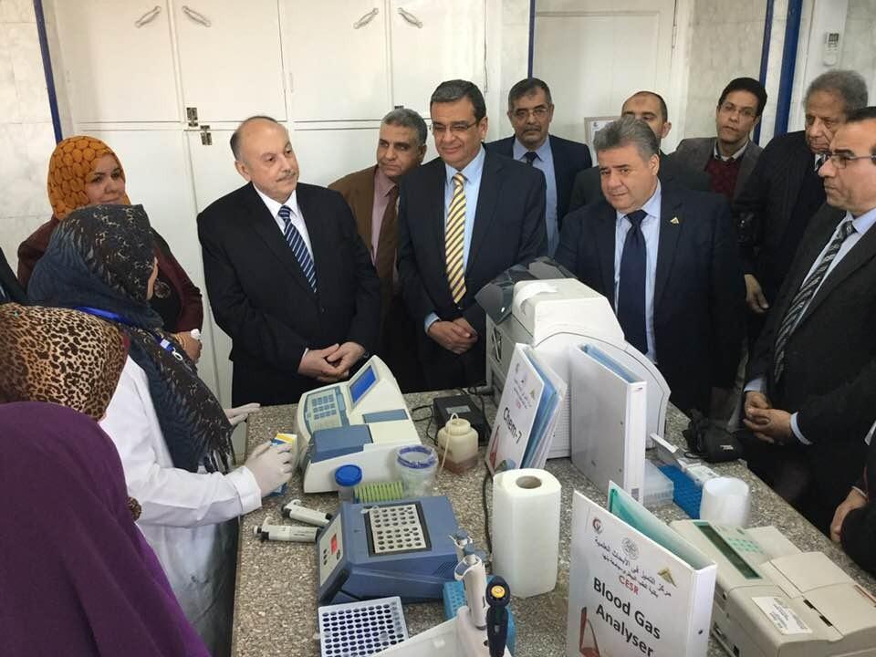 جامعة بنها تفتتح أول مركز تميز في البحث العلمي بالجامعات المصرية (صور)