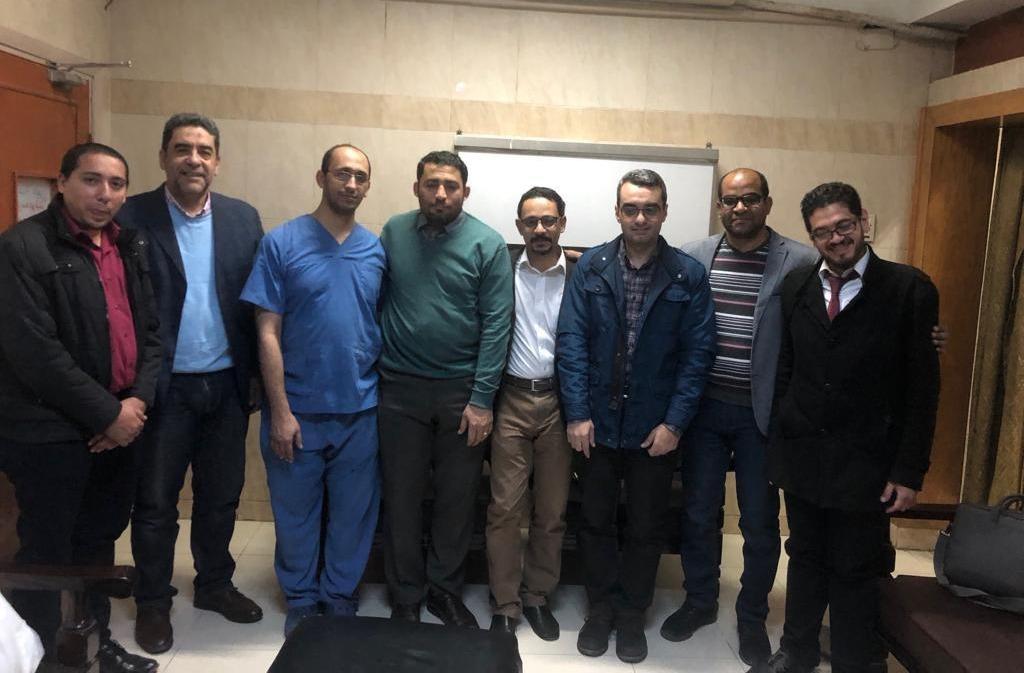 مستشفى جامعة أسيوط يجري «أخطر عملية قسطرة في صعيد مصر» (صور)