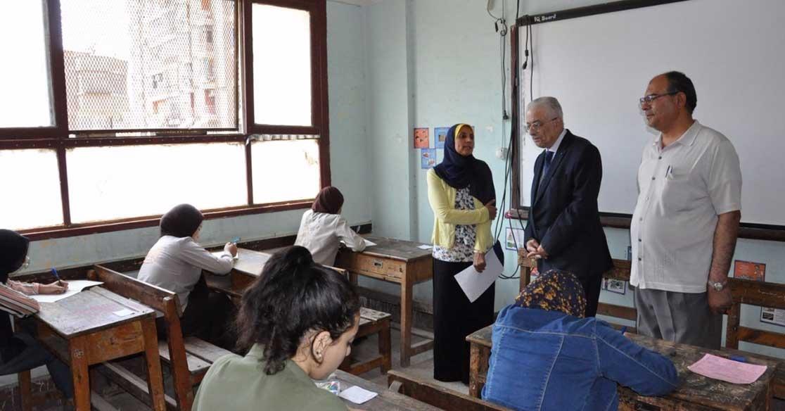 تفاصيل 9 حالات غش في أول أيام امتحانات الثانوية العامة 2018