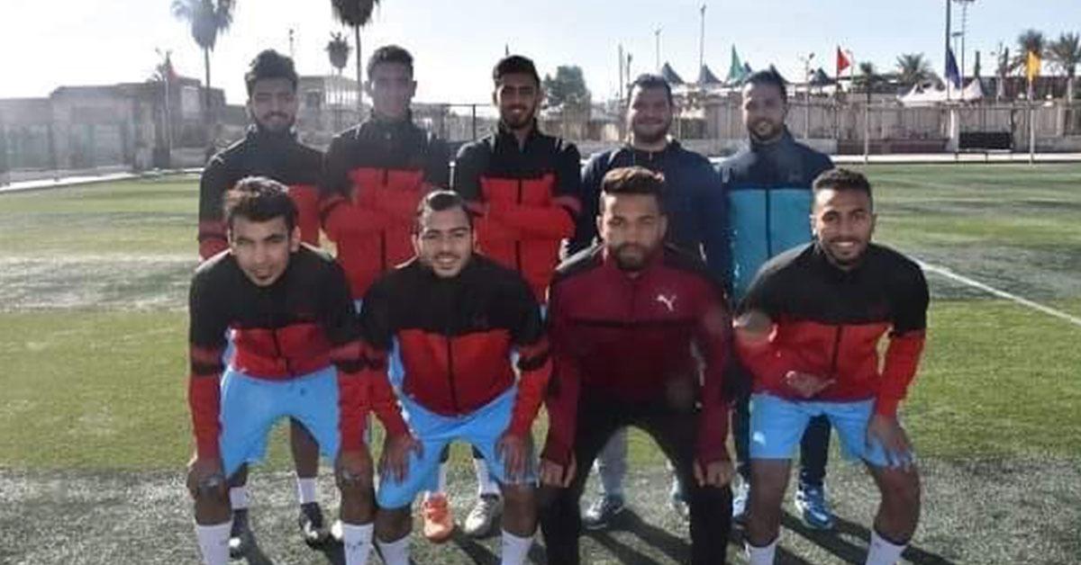 جامعة السادات تفوز ببرونزية كرة القدم في أسبوع شباب الجامعات