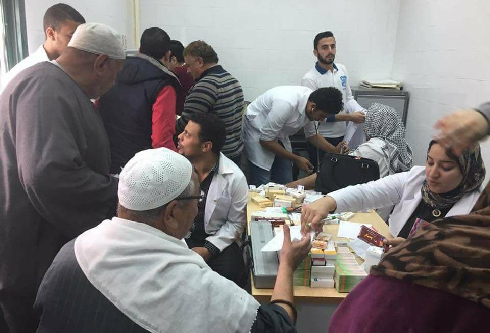 جامعة كفر الشيخ تطلق قافلة طبية لقرى المحافظة (صور)