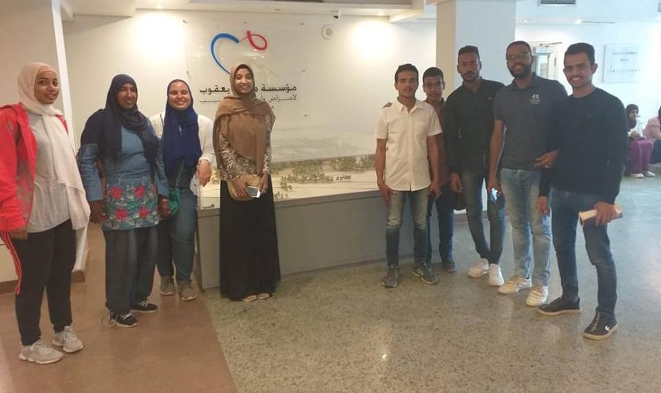 زيارة طلاب بجامعة أسوان لمستشفى مجدي يعقوب للقلب (صور)