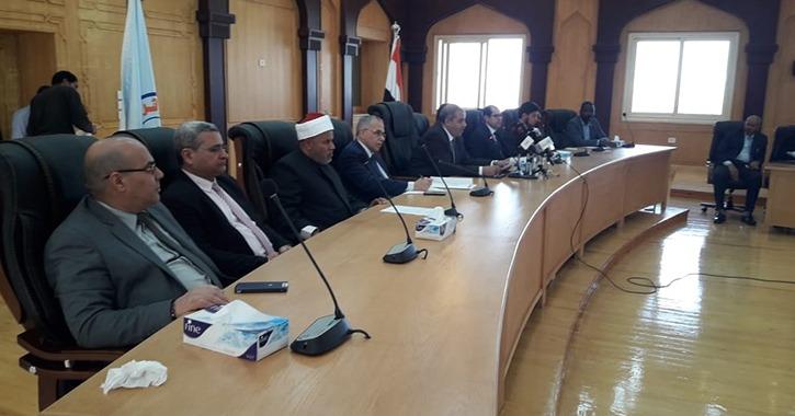 نشر وثيقة الأخوة الإنسانية في كليات جامعة الأزهر
