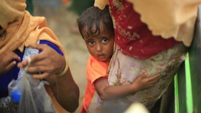 بالحرق والألغام.. قتل الآلاف بينهم 750 طفلا من الروهينجا المسلمين في شهر