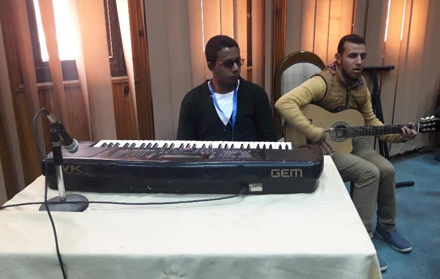 انطلاق مسابقات الإنشاد الديني والعزف الفردي بأسبوع متحدي الإعاقة بجامعة المنيا