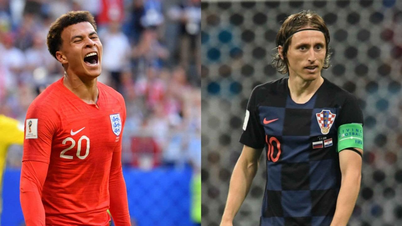 موعد مباراة كرواتيا وإنجلترا وتردد القنوات الناقلة لنصف نهائي كأس العالم