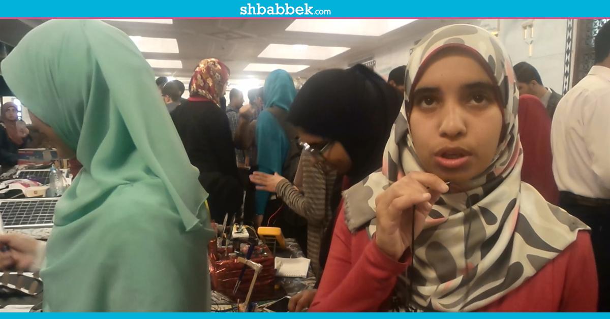 «يدّ» تكتب بالأوامر الصوتية ابتكار طالبات بهندسة الأزهر (فيديو)