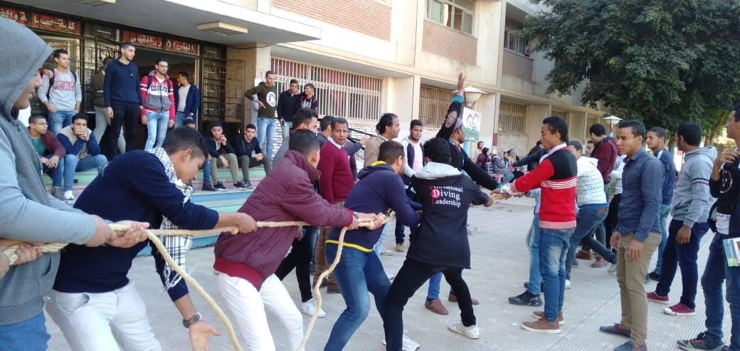 اتحاد كلية السياحة جامعة المنيا ينظم مهرجانا للأنشطة الطلابية
