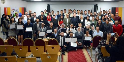 الجامعة الألمانية تكرم 231 طالب من المتفوقين (صور)