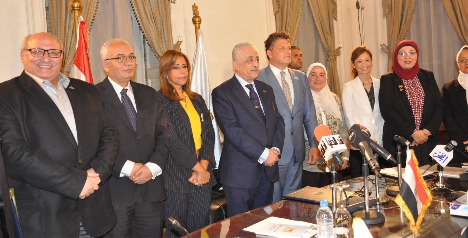 تعاون مشترك بين جامعة عين شمس ووزارة التربية والتعليم لتدريب المعلمين